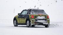 2014 MINI Cooper Convertible spied near the Arctic Circle