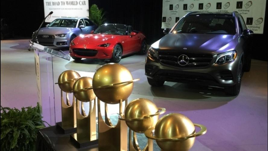 World Car of the Year 2017, le finaliste a Parigi