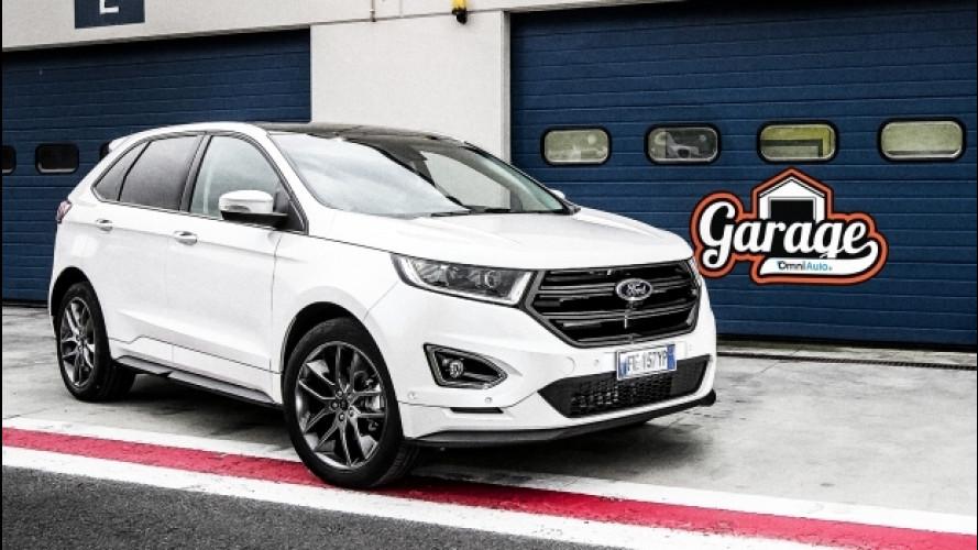 Ford Edge: grande, americano, SUV… ma europeo [VIDEO]