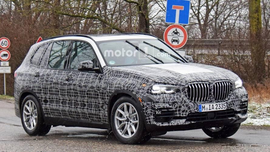 Le nouveau BMW X5 refait surface