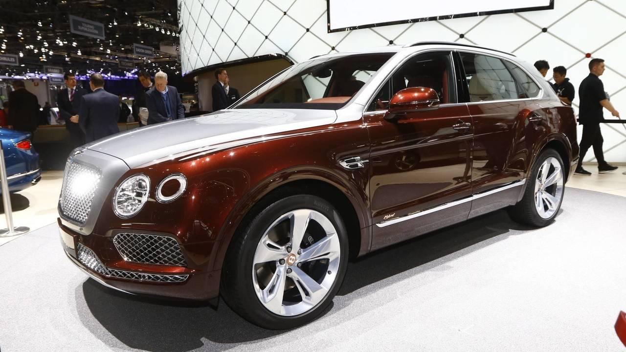 Bentley Bentayga Hybrid, salón de Ginebra 2018