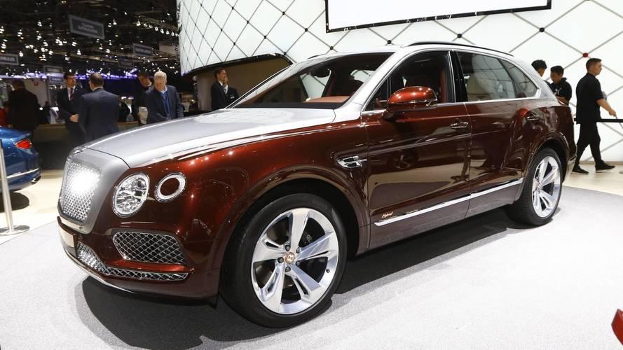Bentley Bentayga Hybrid Live From Geneva Motor Show