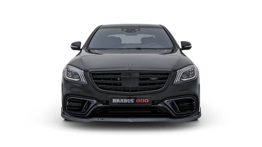 2018 Brabus 800 Sedan based on the Mercedes-AMG S63 Sedan