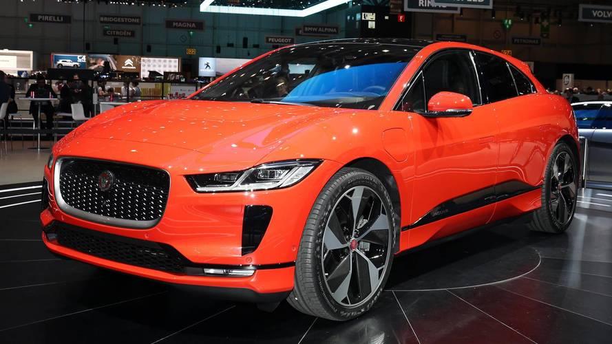 Jaguar I-Pace - 400 ch et jusqu'à 480 km d'autonomie