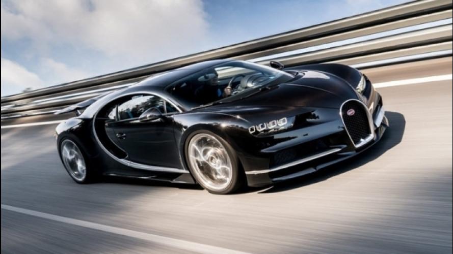 The Grand Tour, a 448 km/h con la Bugatti Chiron [VIDEO]