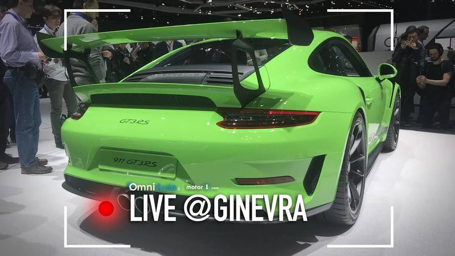 Porsche GT3 RS, l'urlo dell'aspirato