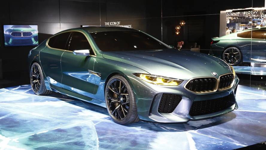 BMW M8 Gran Coupe concept breaks cover at Geneva