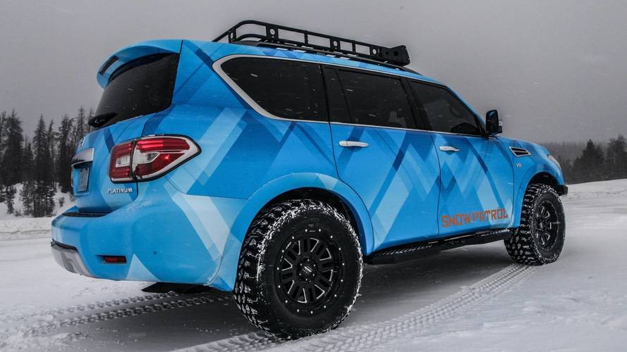 Nissan Armada Snow Patrol Concept photo