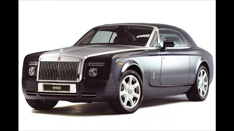 Rolls-Royce 101EX: Coupé-Studie mit Phantom-Kraft