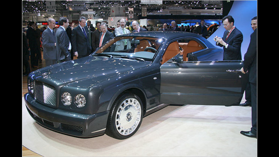 Bentley Brooklands: Edel-Brite versprüht Charme in Genf