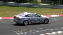 2018 Jaguar XEL screenshot from spy video