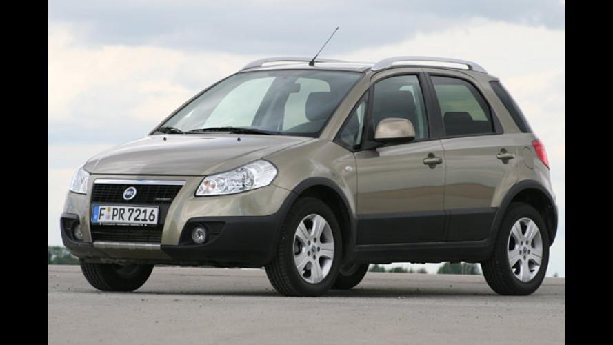 4 x 4 = Sedici: Kleinwagen-SUV-Mix im Test