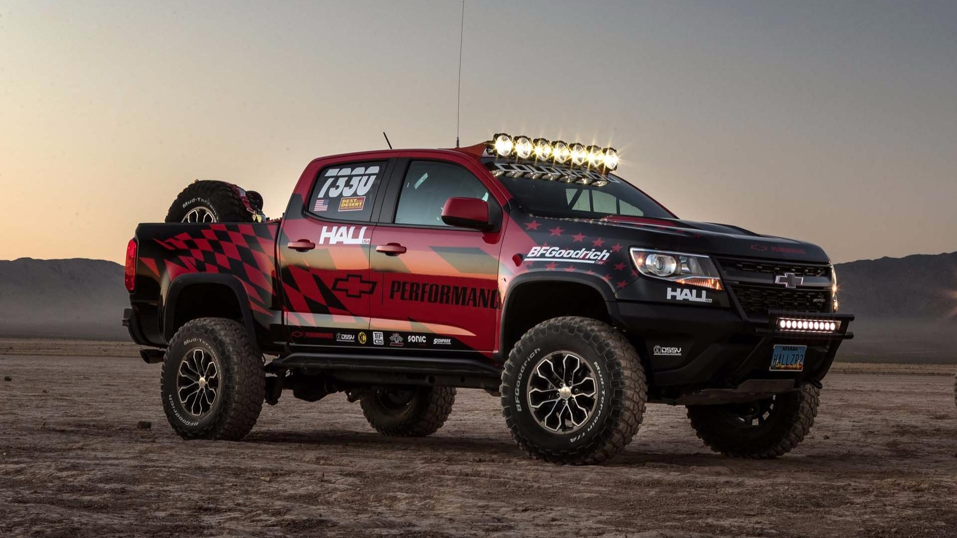chevy colorado zr2 goes to nevada for off road competition debut. Black Bedroom Furniture Sets. Home Design Ideas