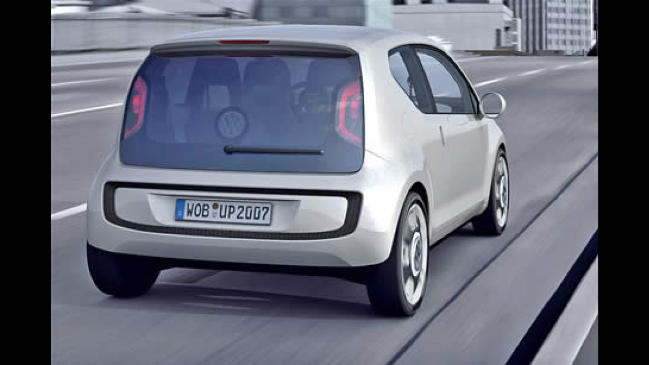 Volkswagen muda o projeto e confirma o novo compacto Up! com tração dianteira