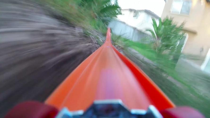 Bir Hot Wheels aracı ne kadar hızlı gidebilir?