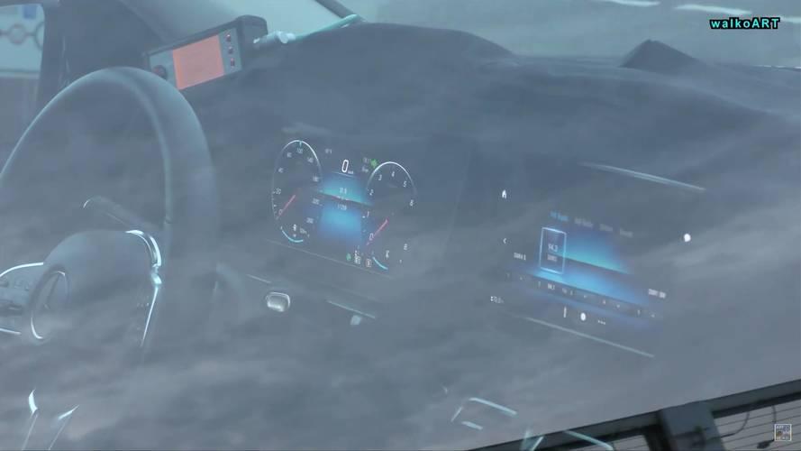 2019 Mercedes GLE'nin kabini görüntülendi
