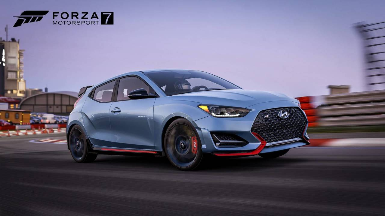 2019 Hyundai Veloster In Forza Motorsport 7 Photo