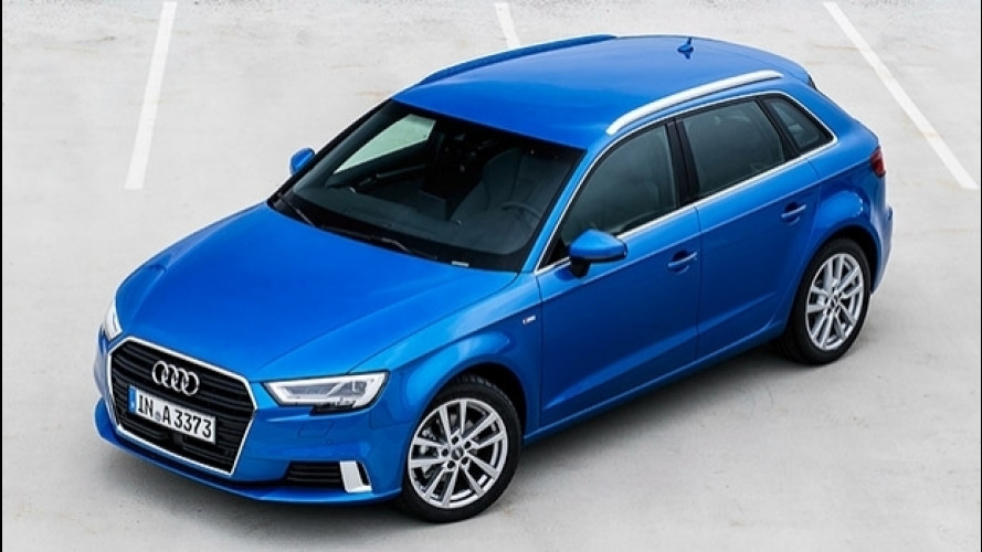 Audi A3 1.0 TFSI, lusso a tre cilindri