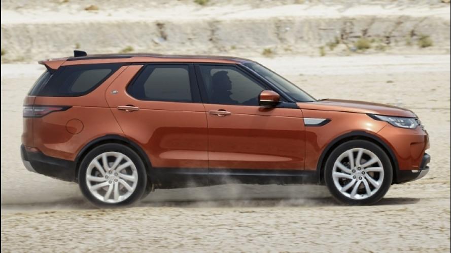 Nuova Land Rover Discovery, l'off road è hi-tech