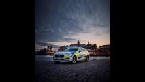 La Volvo V90 della polizia svedese