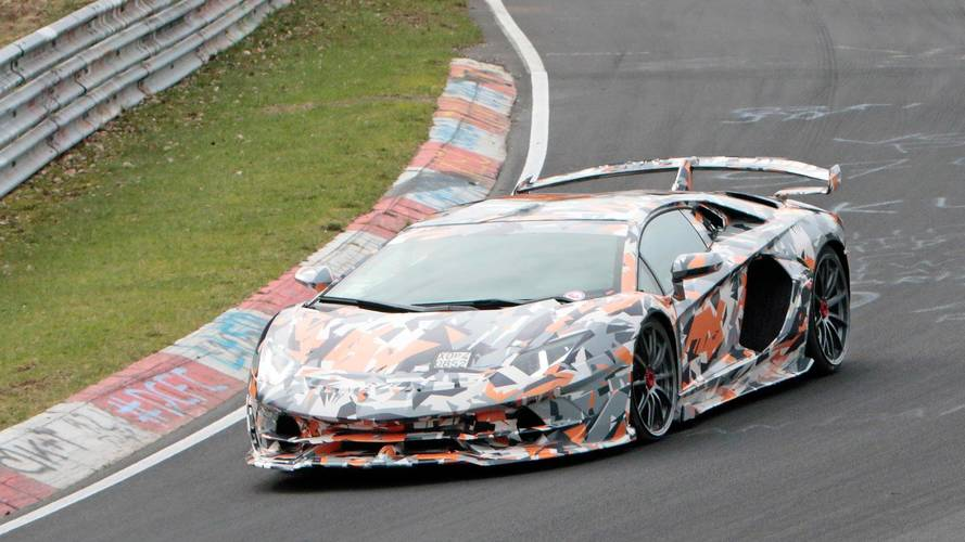 Aventador SVJ Might Take Down 911 GT2 RS' Nurburgring Record