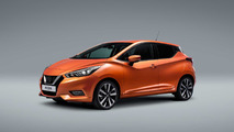 Nissan Micra dorado