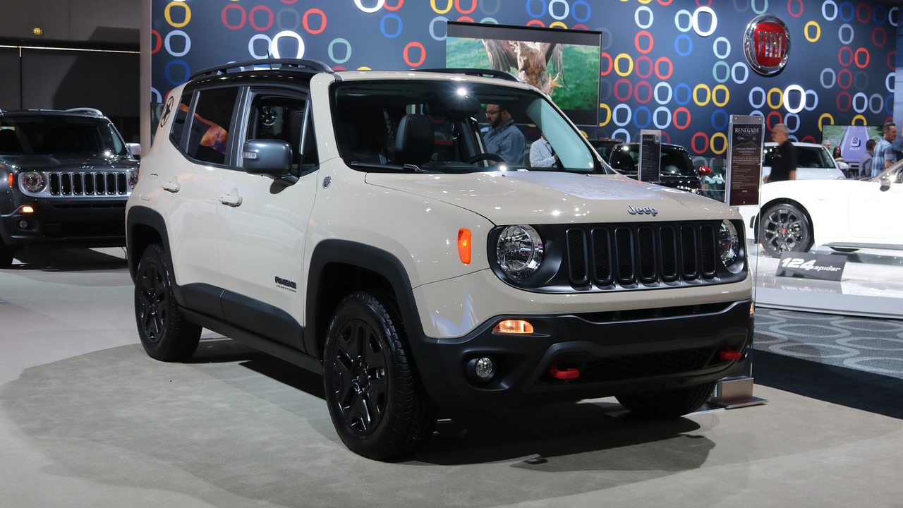 Jeep Renegade Trailhawk For Sale >> 2017 Jeep Renegade Deserthawk is yet another special ...