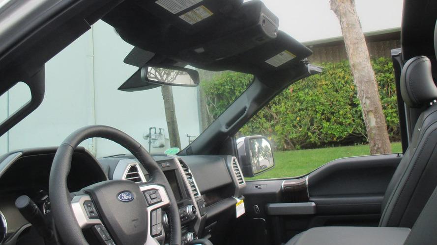 Üstü açılır Ford F-150