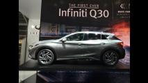 Frankfurt: hatch ou crossover, Infiniti Q30 representa bem a marca de luxo da Nissan