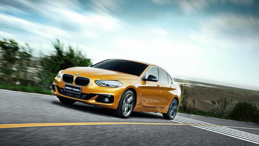 La BMW Série 1 Sedan snobe l'Europe