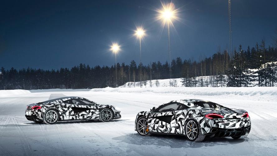 McLaren, buzda sürüş etkinliği için Finlandiya'ya gidiyor