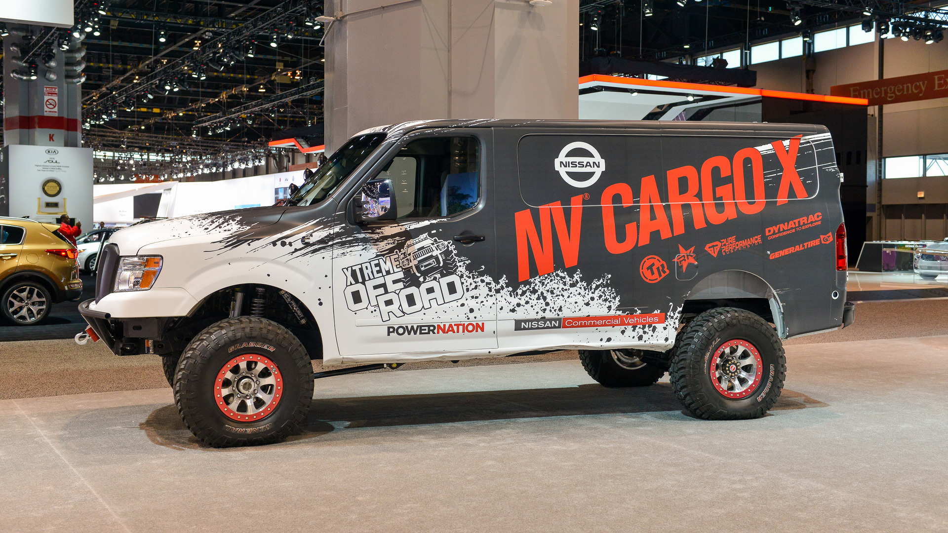 Off Road Van For Sale >> Nissan NV Cargo X is off-roader and support vehicle all in one