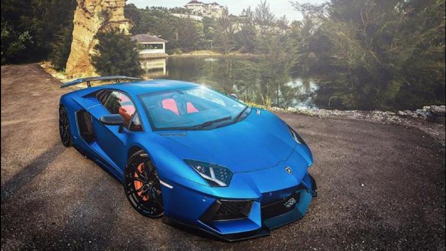 Omaggio fotografico alla Lamborghini Aventador Molto Veloce by DMC