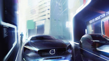 Volvo's vision of a pure electric vehicle
