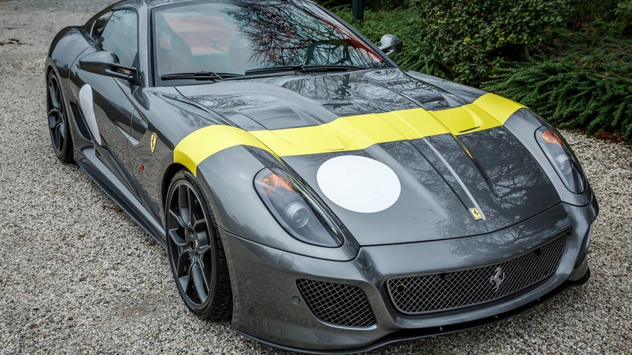 Barely driven Ferrari 599 GTO on sale for €795,000