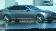 2014 Hyundai Genesis spy photo 17.10.2013