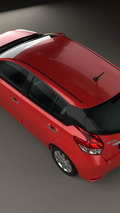 2014 Toyota Yaris rendering surfaces online [video]