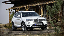 2014 BMW X3 facelift