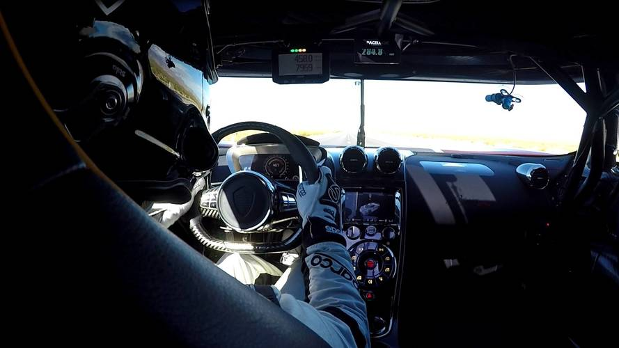 Take A Virtual Seat In The Agera RS During Its Record-Breaking Run
