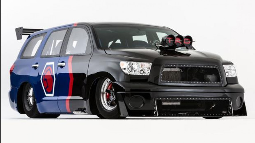 Toyota Sequoia Family Dragster Concept