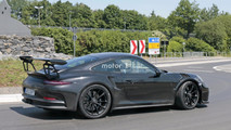 2018 Porsche 911 GT3 RS spy photo