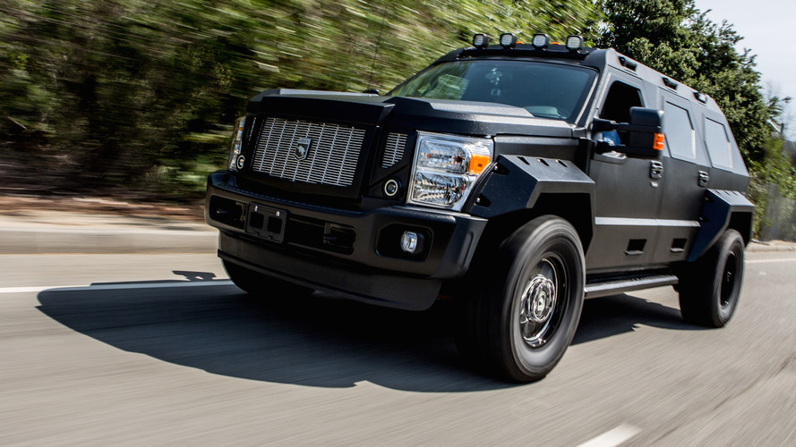 Rhino GX From Fate Of The Furious Squeezes Into Jay Leno's Garage