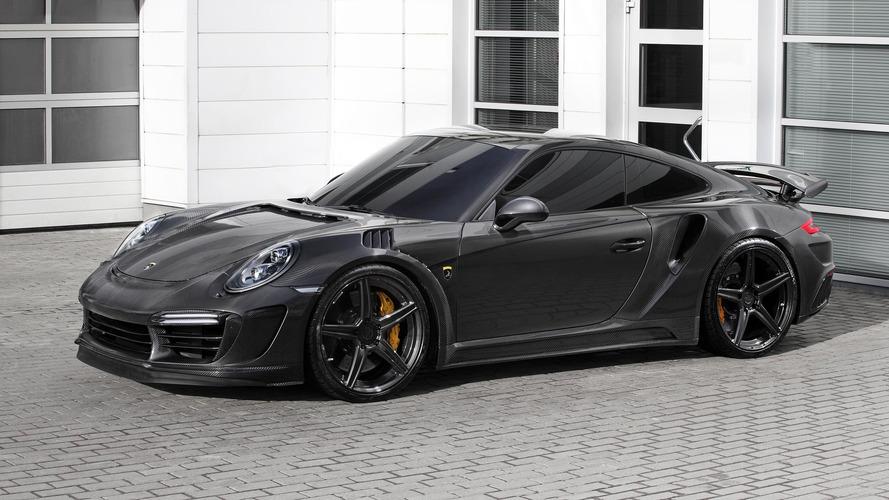 Tuner Gives Porsche 911 Turbo Carbon Fiber Body, 650 HP