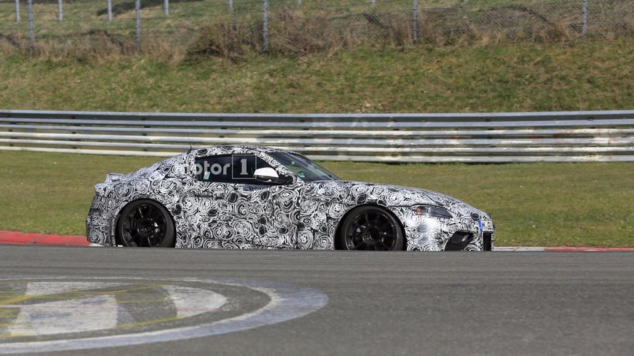 2018 Toyota Supra yine Nürburgring'de yakalandı