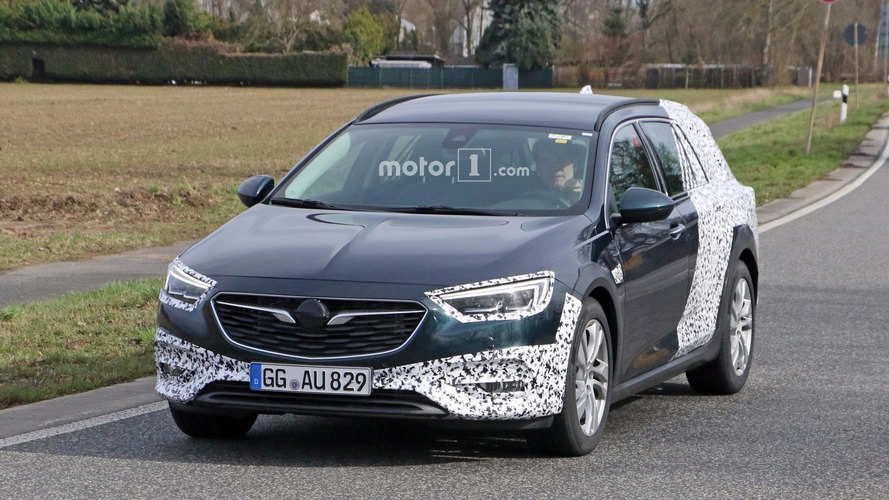 El Opel Insignia Country Tourer 2017 viene de camino
