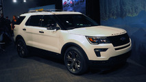 2018 Ford Explorer at New York Auto Show