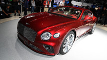 2018 Bentley Continental GT live images
