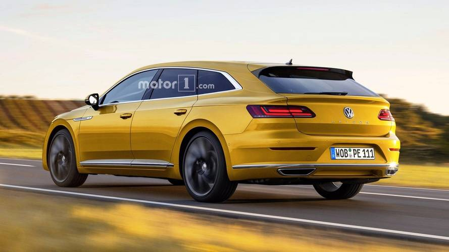 VW Arteon Rendered As The Stylish Wagon That Might Just Happen