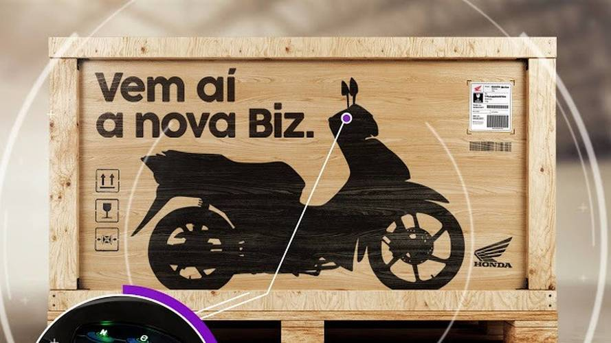 Nova Honda Biz 2018 será revelada no Salão Duas Rodas