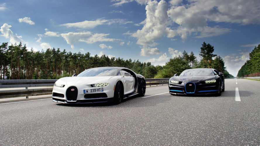 Best Way To Film A Bugatti Chiron Do 249 MPH? Another Chiron